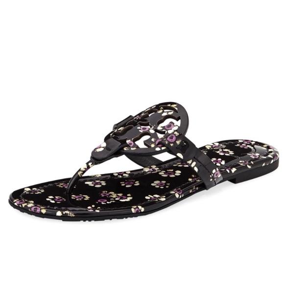 78a3623d8ecc NWT Tory Burch Miller Flat Sandals